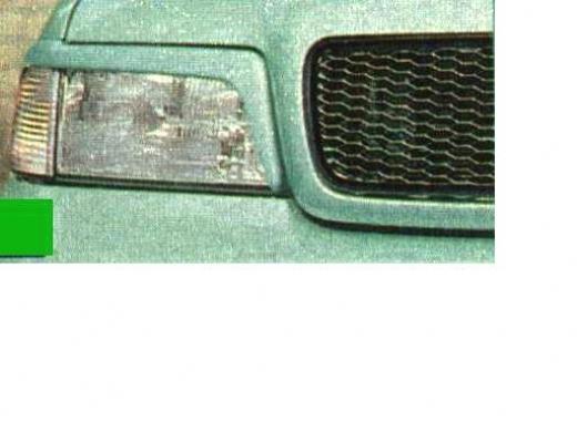 Audi A4 szemöldök indexes