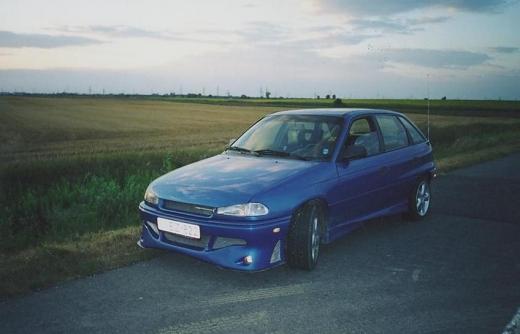 Opel Astra F elsõ lökhárító
