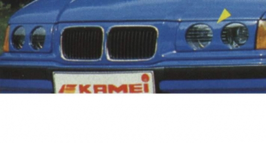 BMW E36 elsõ maszk