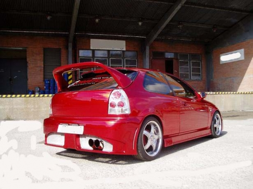 Civic hátsó lökhárító 96-01