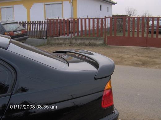 BMW E46 hátsó szárny