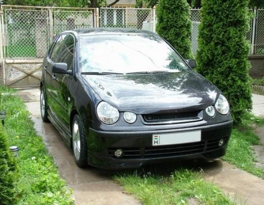 VW Polo 9N elsõ toldat