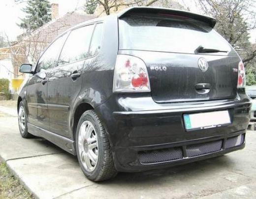 VW Polo 9n hátsó toldat