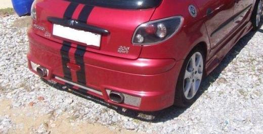 Peugeot206 hátsó lökhárító