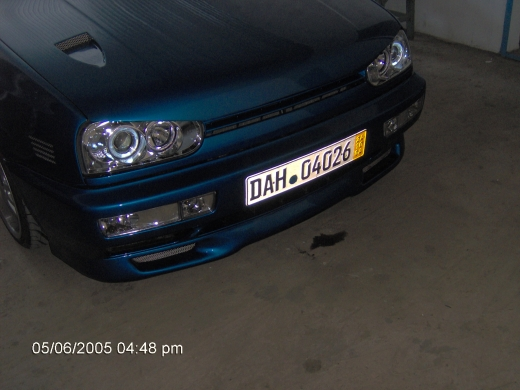 VW golf III elsõ toldat