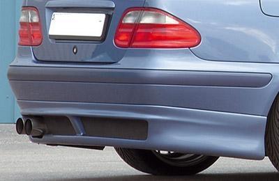 Mercedes CLK hátsó toldat