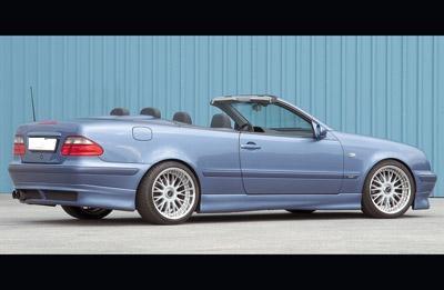 Mercedes CLK küszöbspoiler