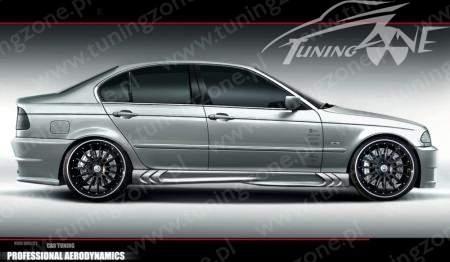 BMW E46 küszöbspoiler