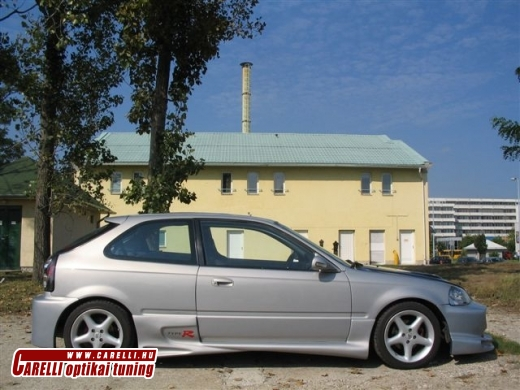 Civic 96- küszöb spoiler
