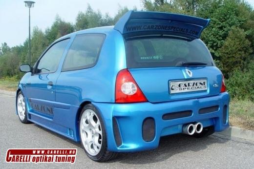 Clio2 hátsó lökhárító