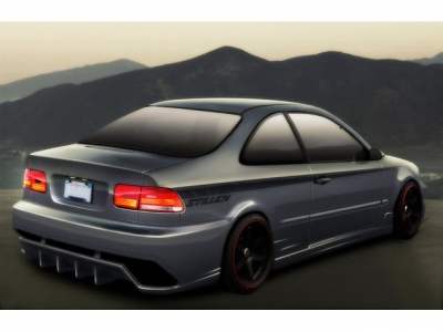 Civic 1992-1995 hátsó lökhárító Coupe