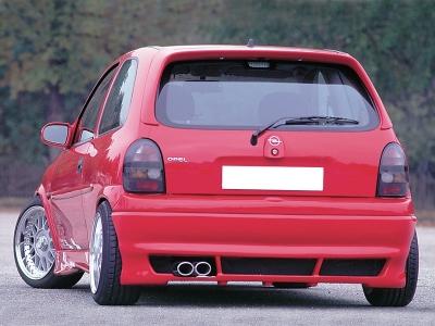 Opel Corsa B hátsó toldat