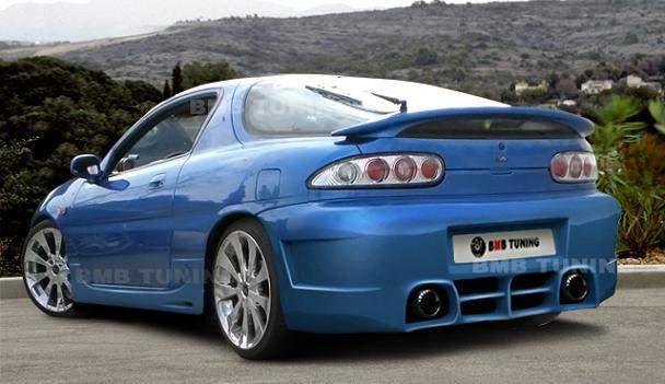 Mazda MX3 Hátsó lökhárító
