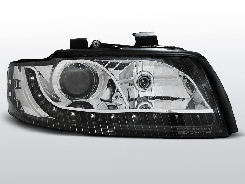 AUDI A4 2000.10-2004-10 Fekete Daylight Elsõ lámpa