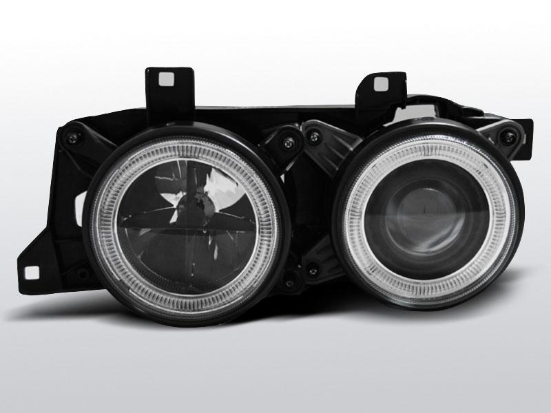 BMW E34 Fekete ANGEL EYES Elsõ Lámpa