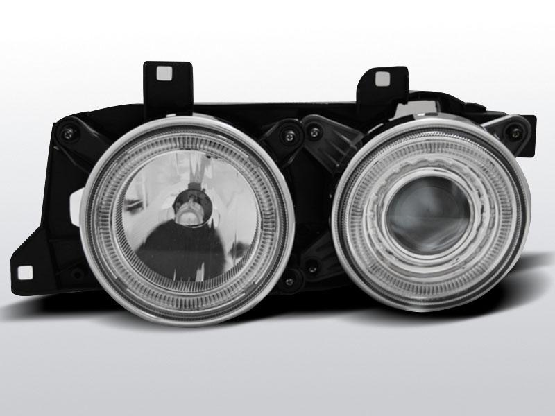 BMW E34 Króm ANGEL EYES Elsõ Lámpa