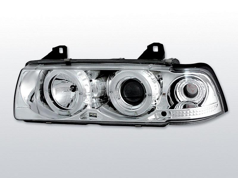 BMW E36  Angel Eyes Elsõ Lámpa