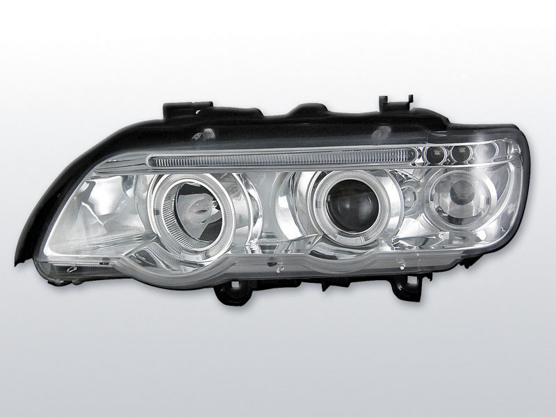 BMW X5 E53 1999.09-2003.10 Króm ANGEL EYES Elsõ Lámpa