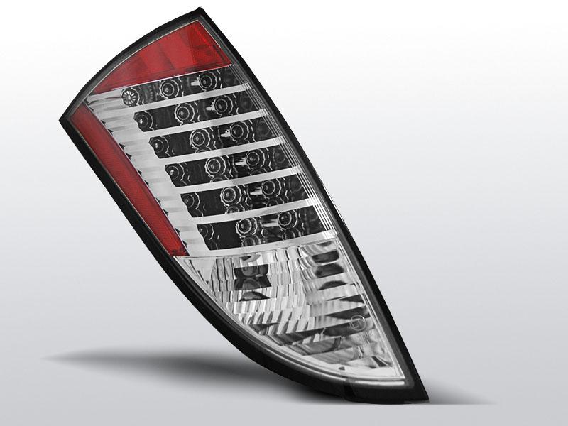 FORD FOCUS 1 HB 98-04 Króm LED -es hátsó lámpa