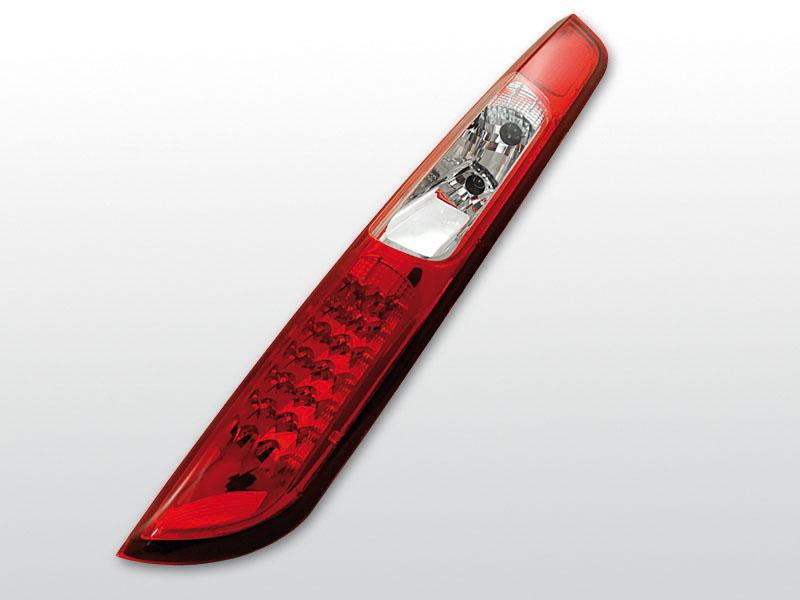 FORD FOCUS MK2 09.04-10 Ferdehátú Piros Fehér LED -es hátsó lámpa