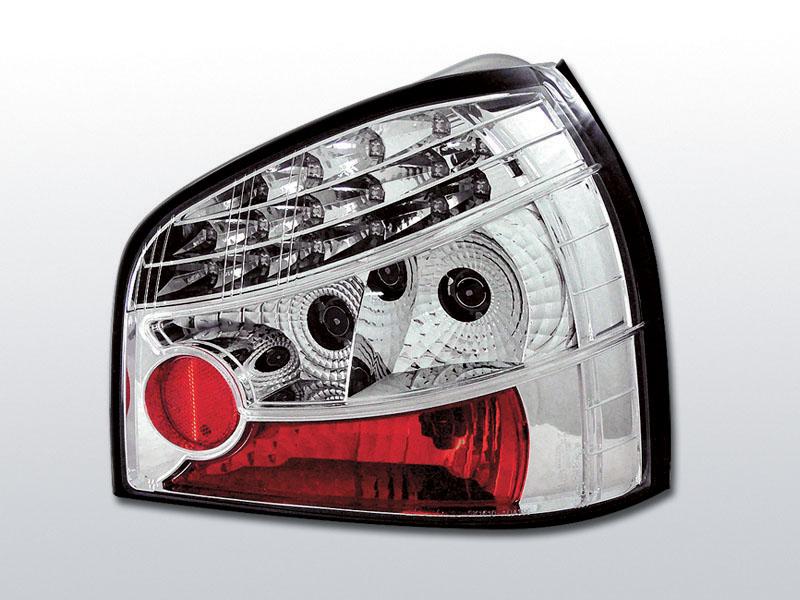 AUDI A3 08.96-08.00 Króm LED -es hátsó lámpa