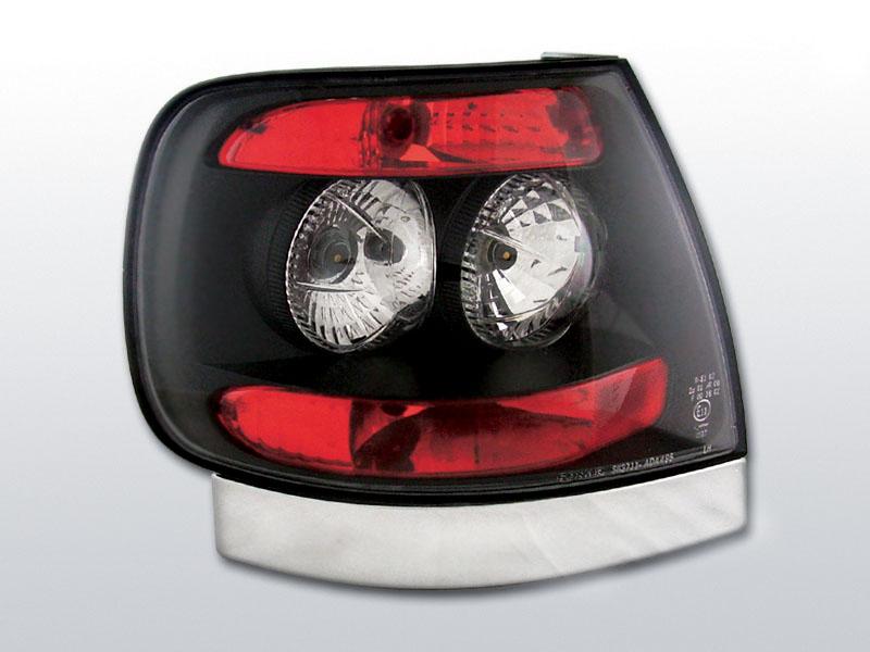 AUDI A4 11.94-09.00 Fekete hátsó lámpa