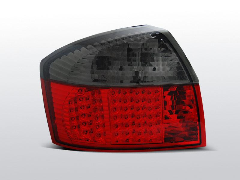 AUDI A4 Piros-Füstös Ledes Hátsó lámpa 10.00-10-04