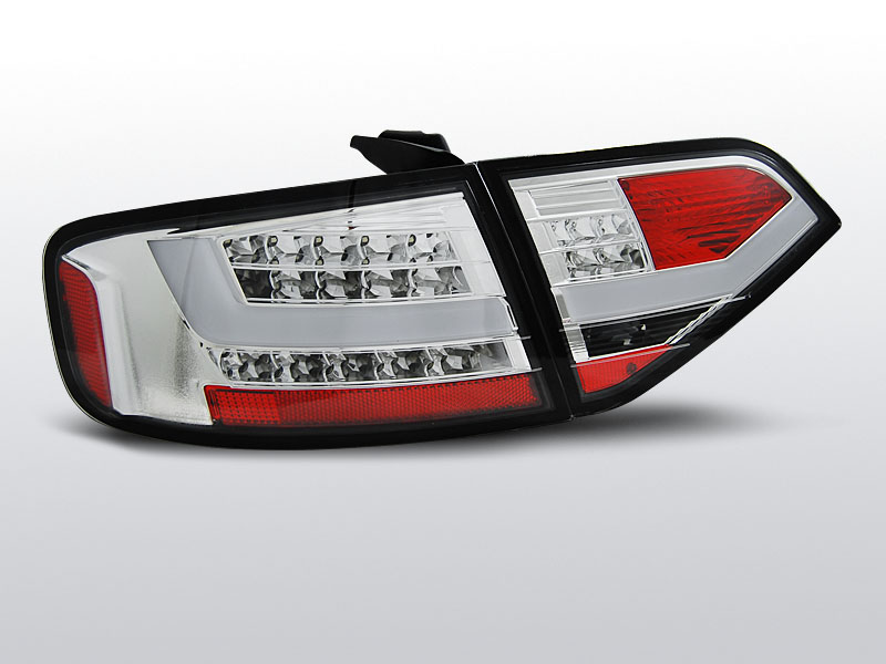AUDI A4 B8 08-11 SEDAN Króm LED-es Hátsó lámpa