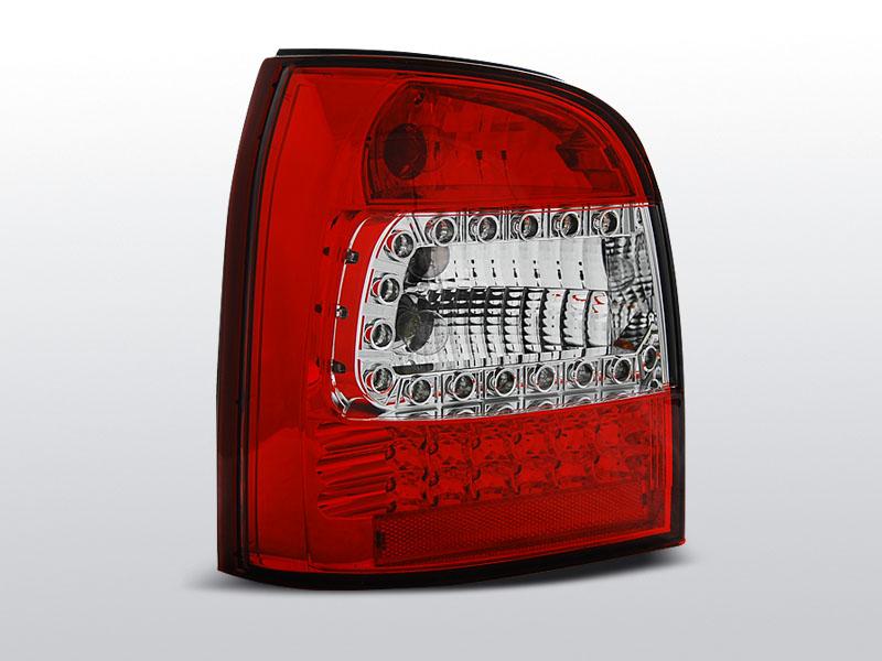 AUDI A4 94-01 AVANT Piros-Fehér Ledes Hátsó lámpa