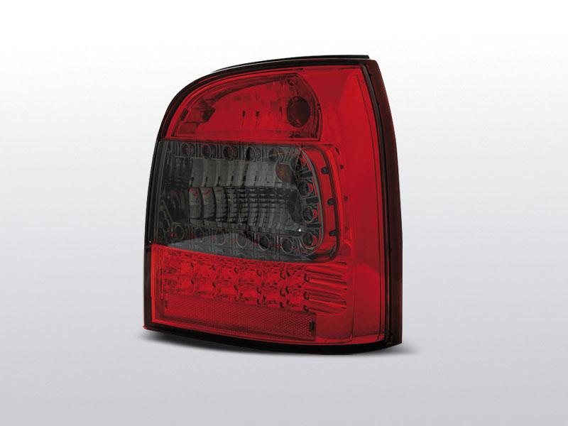 AUDI A4 94-01 AVANT Piros-Füst Ledes Hátsó lámpa