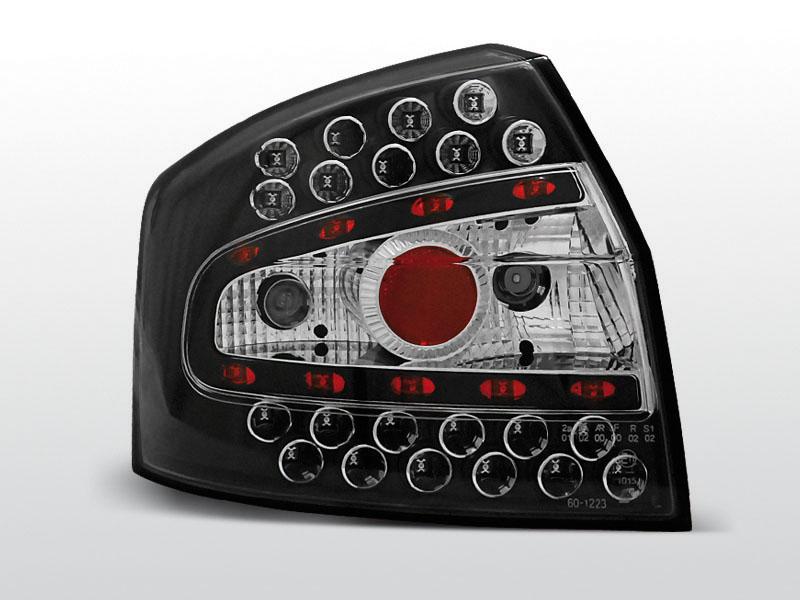 AUDI A4 8E 10.00-10.04 SEDAN Fekete LED -es hátsó lámpa