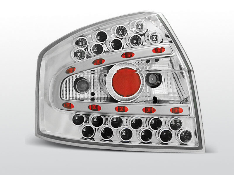 AUDI A4 8E 10.00-10.04 SEDAN Króm LED -es hátsó lámpa