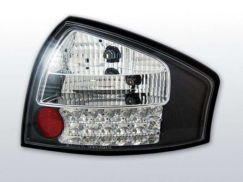 AUDI A6 05.97-05.04 Fekete LED -es hátsó lámpa