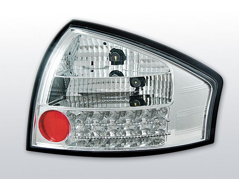 AUDI A6 05.97-.05.04 Króm LED -es hátsó lámpa