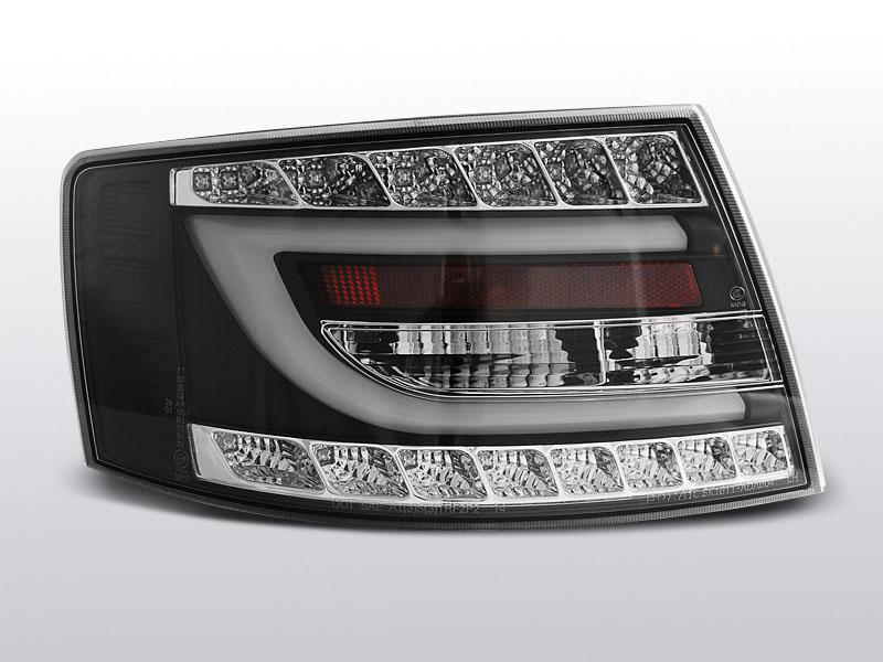 AUDI A6 C6 SEDAN 04.04-08 Fekete LED-es Hátsó lámpa