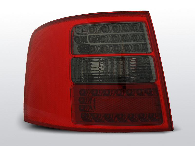 AUDI A6 05.97-05.04 AVANT Piros Sötétített LED -es hátsó lámpa
