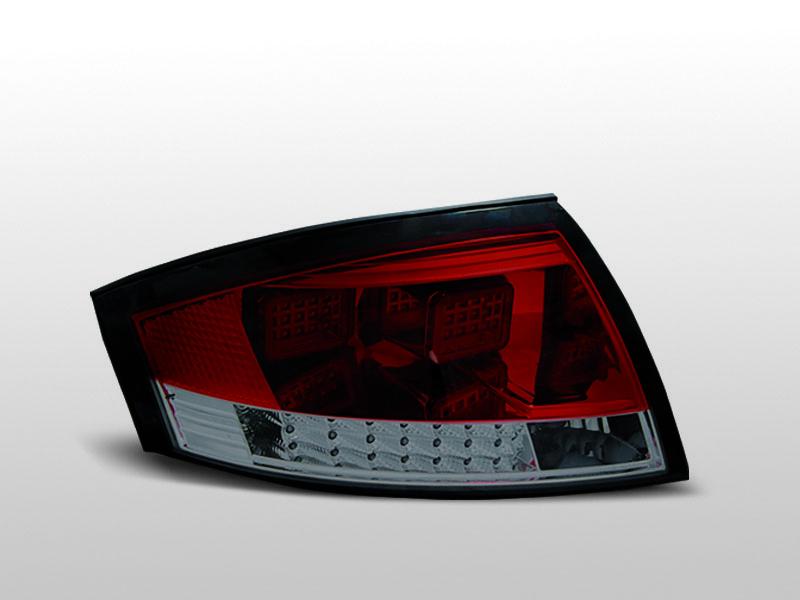 AUDI TT 8N 99-06 Piros Füstös LED Hátsó lámpa