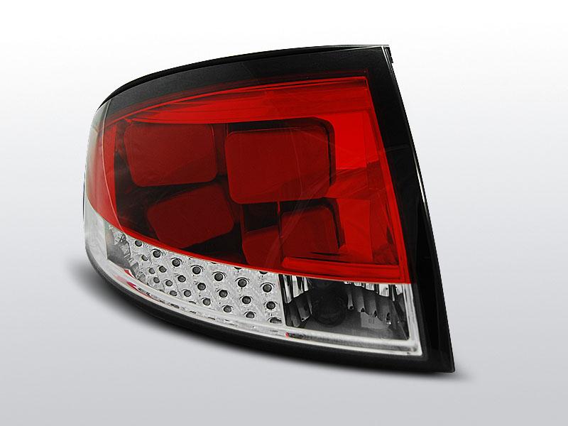AUDI TT 8N 99-06 Piros-Fehér LED-es Hátsó lámpa