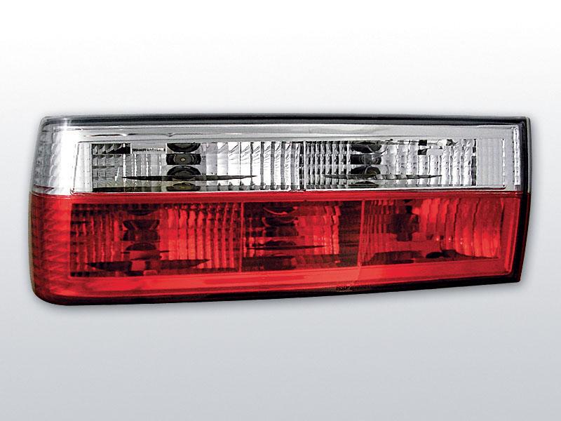 BMW E30 11.82-08.87 Piros Fehér hátsó lámpa