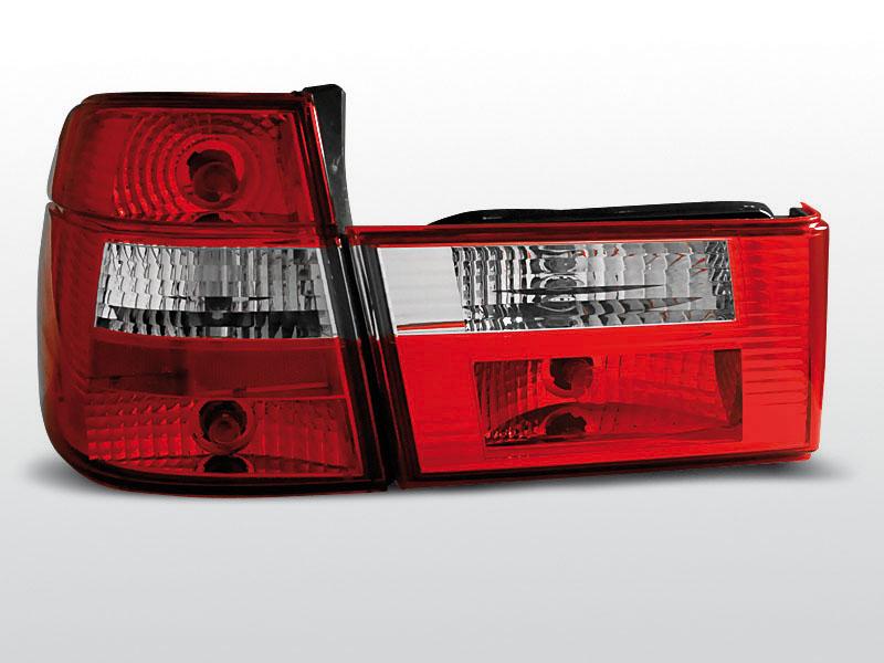 BMW E34 91-96 TOURING Piros Fehér hátsó lámpa