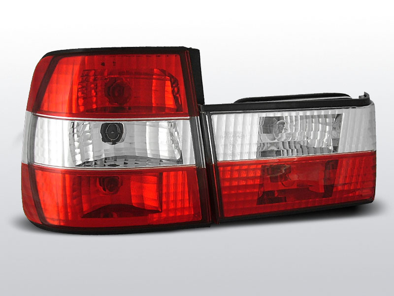 BMW E34 02.88-12.95 Piros Fehér hátsó lámpa