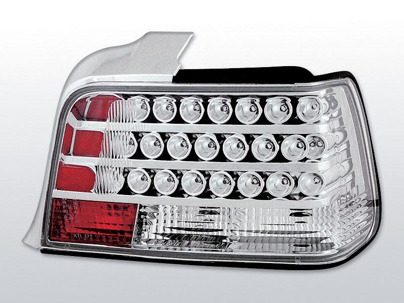 BMW E36 SEDAN Króm LED -es hátsó lámpa
