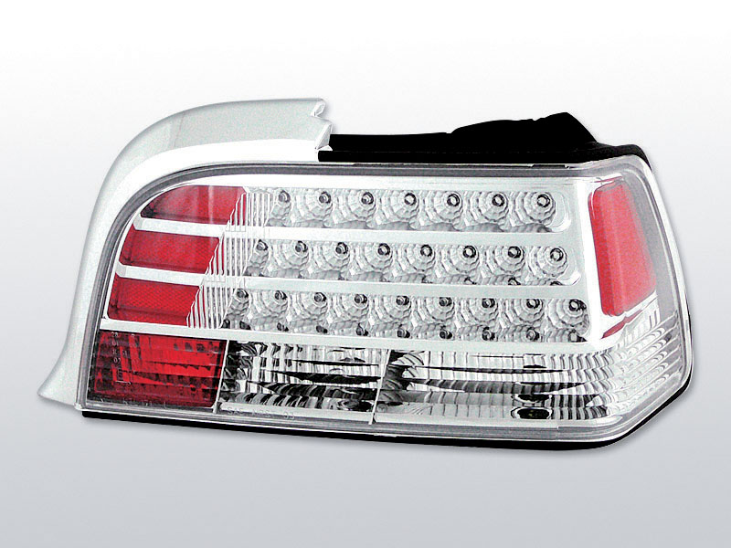 BMW E36 12.90-08.99 COUPE Króm LED -es hátsó lámpa