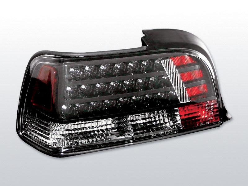 BMW E36 COUPE Fekete LED -es hátsó lámpa