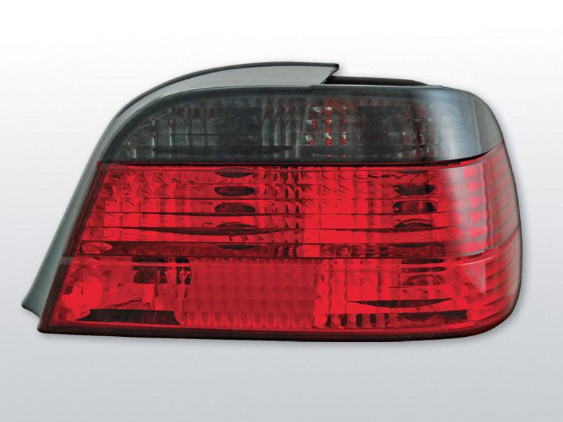 BMW E38 06.94-07.01 Piros Sötétített hátsó lámpa