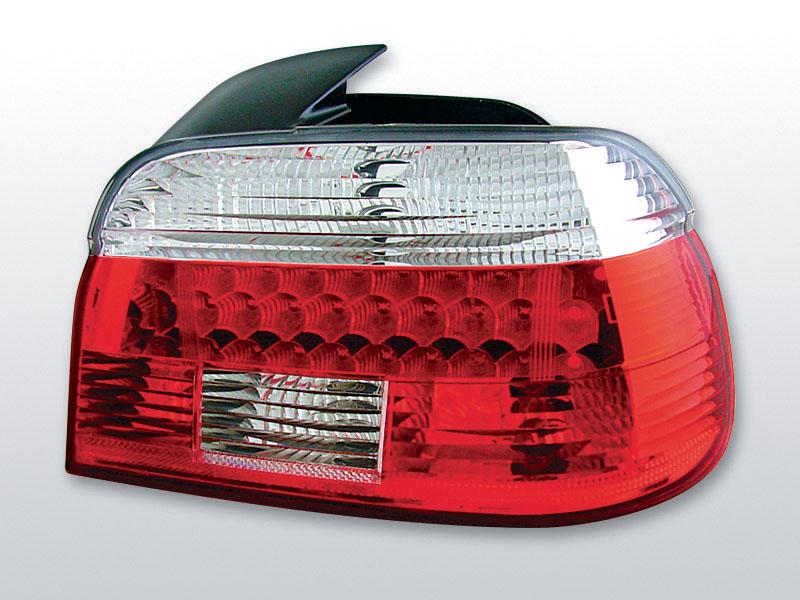 BMW E39 09.95-08.00 Piros Fehér LED -es hátsó lámpa