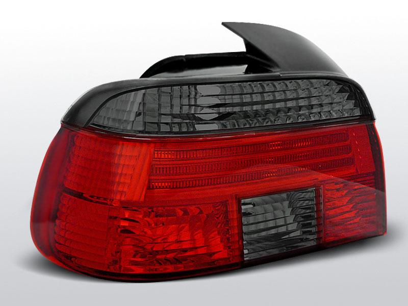 BMW E39 09.95-08.00 Piros Sötétített hátsó lámpa