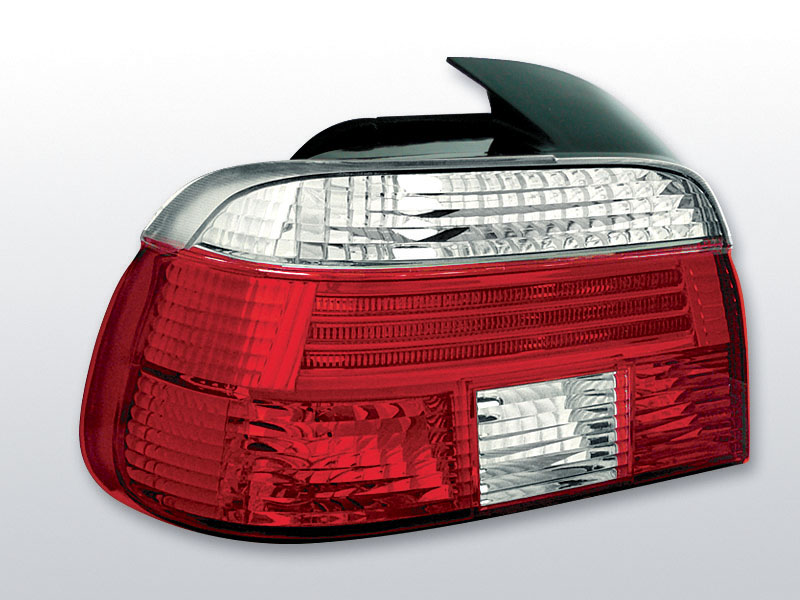BMW E39 09.95-08.00 Piros Fehér hátsó lámpa