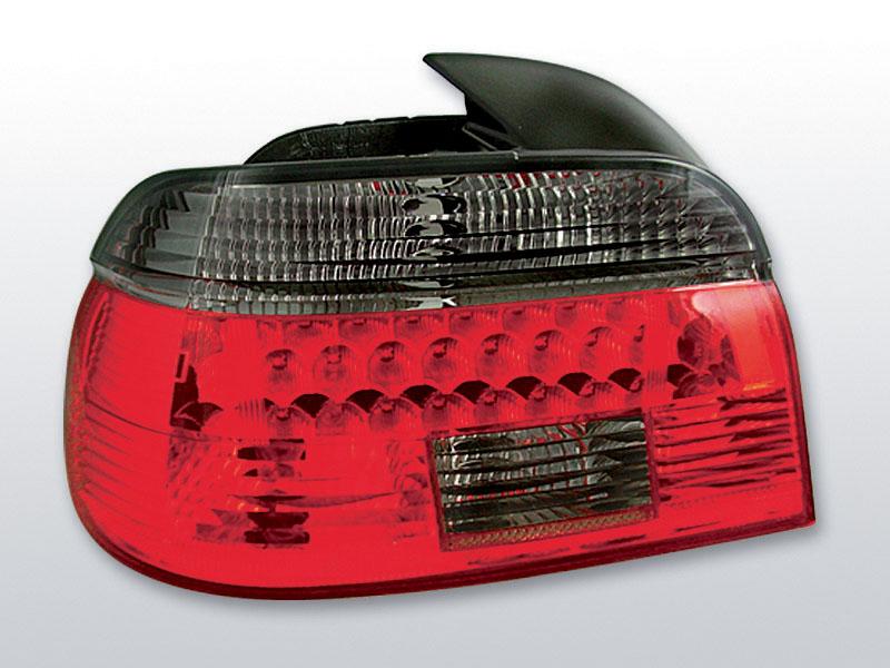 BMW E39 09.95-08.00 Piros Sötétített LED -es hátsó lámpa