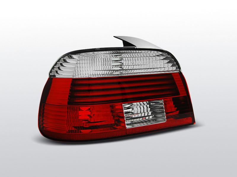 BMW E39 09.00-06.03 Piros Fehér hátsó lámpa